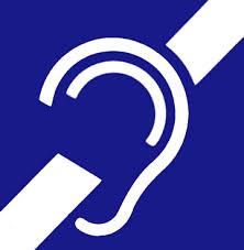 hearing impaired blue