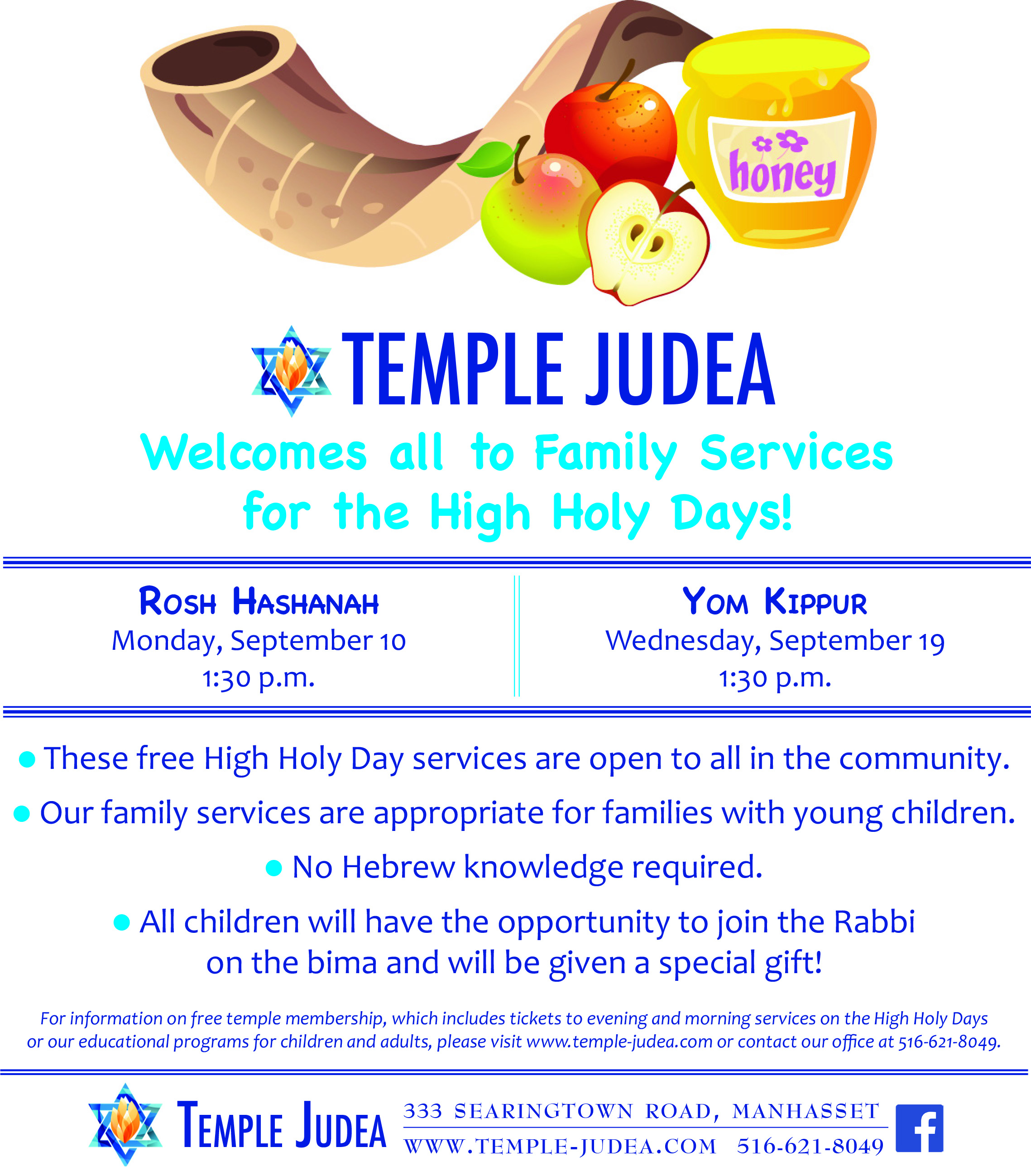 Families With Young Children Temple Judea Of Manhasset